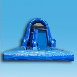 Blue Magic Wet Slide at San Diego