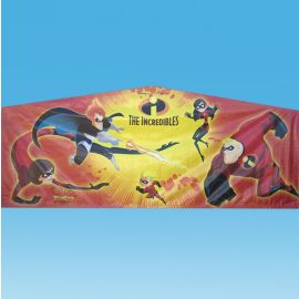 The Incredibles Module Art Banner in San Diego