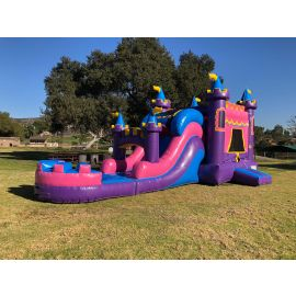 Queen Palace Water Slide Combo Jumper at San Diego