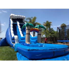 Monster Wave Tropical Water Slide (sku w417)